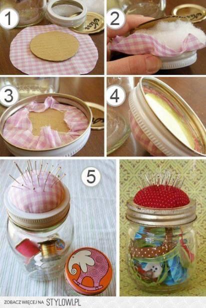 42 Super Ideas Sewing Kit Diy Storage Pin Cushions #diy #sewing