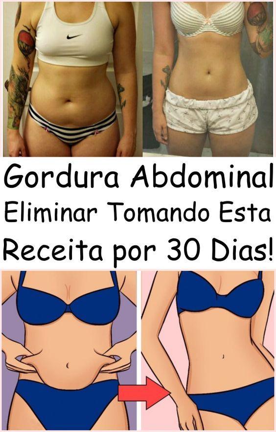 Eliminar A Gordura Abdominal Tomando Esta Receita Por 30 Dias