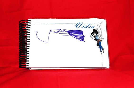 Disney Autograph Book With Personalized Cover and by TinkyToodles, $28.00