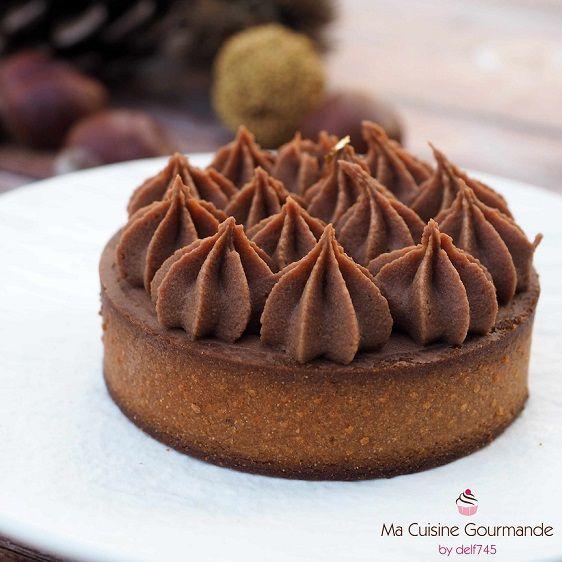 Tartelette Choco Marron Gateaux Et Desserts Mini Tarte Cookies Et Biscuits