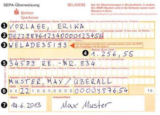 Sepa Uberweisung Vorlage In 2020 Vorlagen Flugblatt Design Vorlagen Word