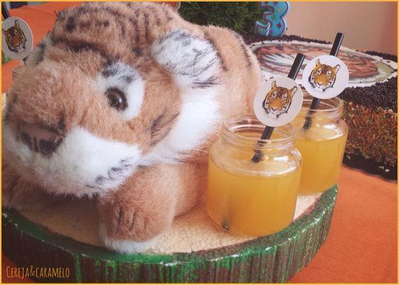 Cereja & Caramelo: Festa dos Tigres