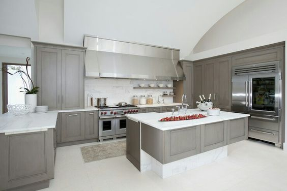 dark grey kitchen cabinetry veneer - Google Search Building