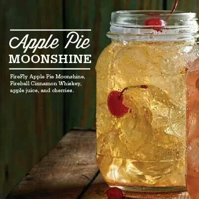 Try this new drink recipe: FireFly Apple Pie Moonshine ...