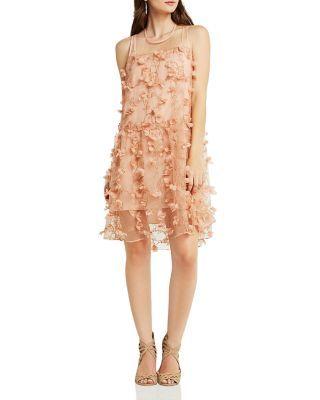 BCBGeneration Floral Detail Dress | Bloomingdale's