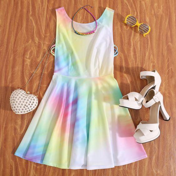 www.romwe.com#romwe#colordress