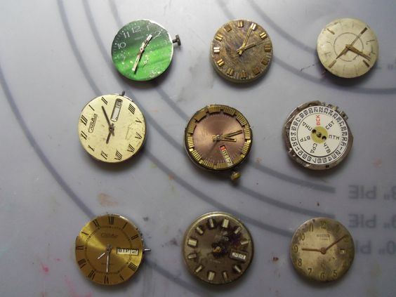 10 Vintage Watches all from USSR. $25.99, via Etsy.