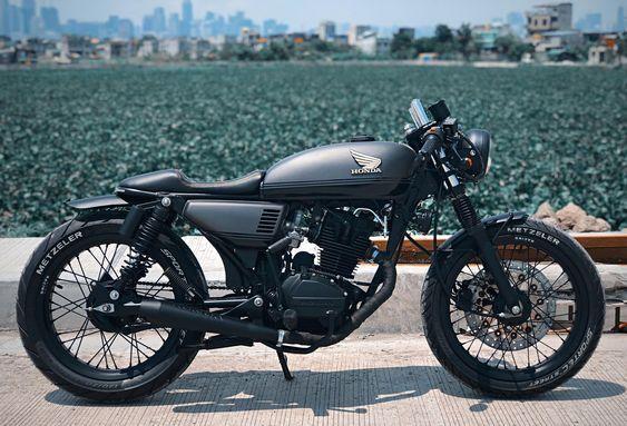 Cafe Racer Design Cafe Racer Indonesia Motor Cafe Racer Cafe Racer Honda Custom Bikes Cafe Racers