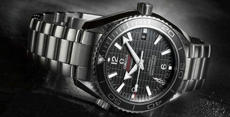 """Anlässlich des neuen James Bond Filmes präsentiert Omega die Seamaster Planet Ocean 600M """"Skyfall"""" Limited Edition."""
