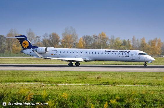 D-ACKJ Lufthansa CityLine Canadair CL-600-2D24 Regional Jet CRJ-900LR - cn 15089