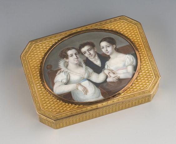Gold box, St. Petersburg, P.F. Theremen, c. 1800.