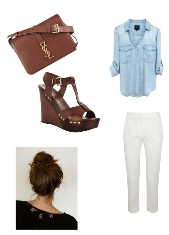 """Untitled #81"" by ashola18 ❤ liked on Polyvore featuring MaxMara, Yves Saint Laurent and Carvela Kurt Geiger"