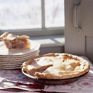 Pear, Walnut, and Maple Syrup Pie   MyRecipes.com