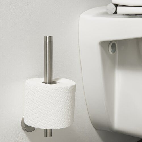 Belfry Bathroom Zavier Wall Mounted Double Toilet Roll Holder In 2020 Toilet Roll Holder Double Toilet Roll Holder Toilet Roll