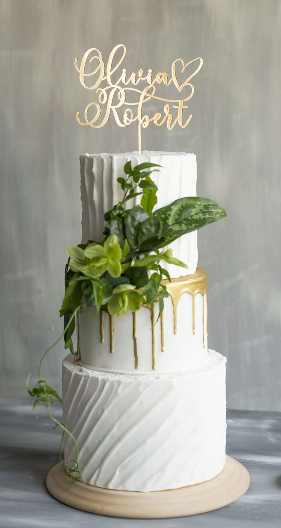 """$39.00 Beautiful gold wedding cake topper ! Customizable Personalized wedding Cake Topper , Can be personalized with """"Mr. & Mrs."""", """"First Names"""",""""Last Names"""",""""Initials"""",""""Monogrammed""""When ordering, please provide the following:""""First Names""""""""Last Names""""""""Wedding date""""Digital draft with your customization will be sent within 2 business days from purchasing.Turnaround time to complete your order is around 14 business days from final approval of your draft.Shipping time by courier service ta"""