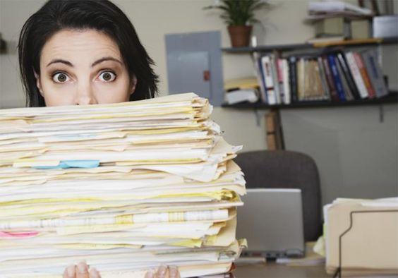 Como organizar a papelada em 5 etapas - contas e documentos - Casinha Arrumada: