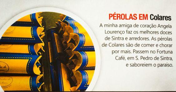 Revista VIP por Sara Esteves Cardoso. #fortunacafesintra