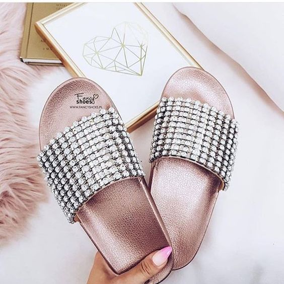 Crystal slippers