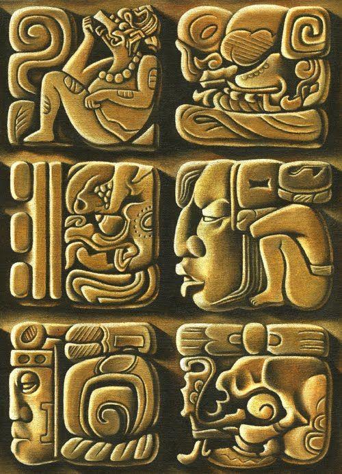 12 best Ancient images on Pinterest Mayan glyphs Mayan symbols