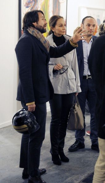 Isabel Preysler is seen at ARCO Contemporary Art Fair at Ifema
