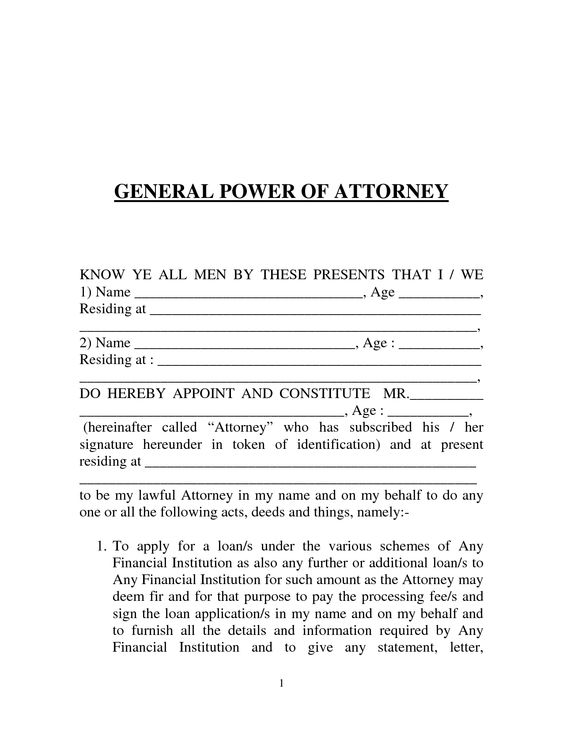 How to Write a Power of Attorney Letter
