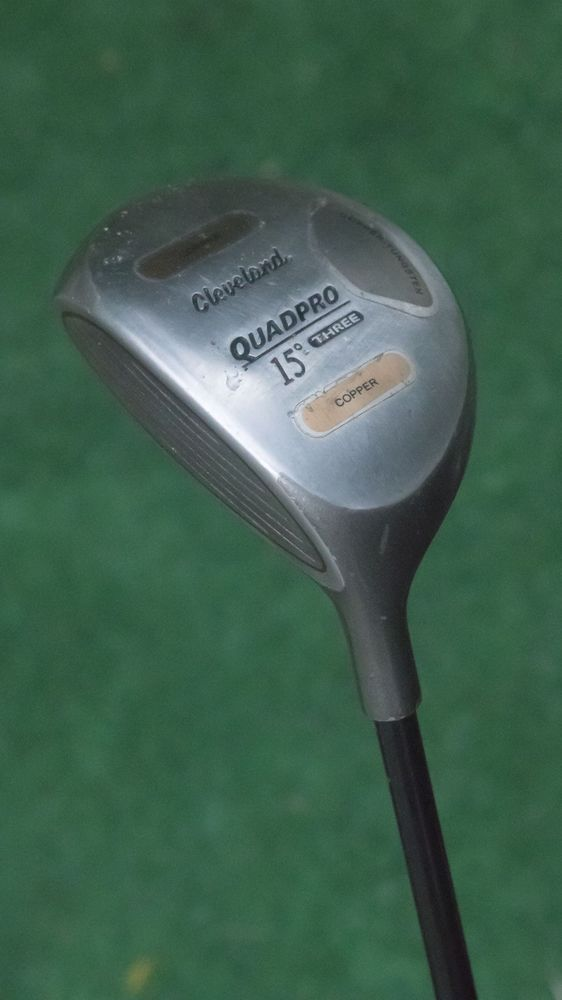 Cleveland Lefthanded Used Quadpro 15 Degree 3 Wood Fairway Wood Used Golf Club Cleveland Golf Clubs Golf Woods Golf
