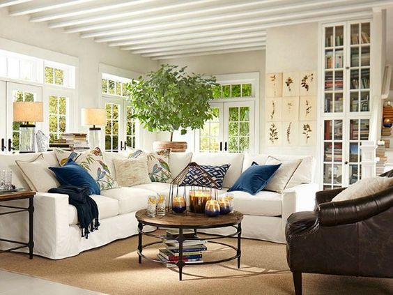 Room decorating ideas living rooms and circles on pinterest Decorate corner of living room