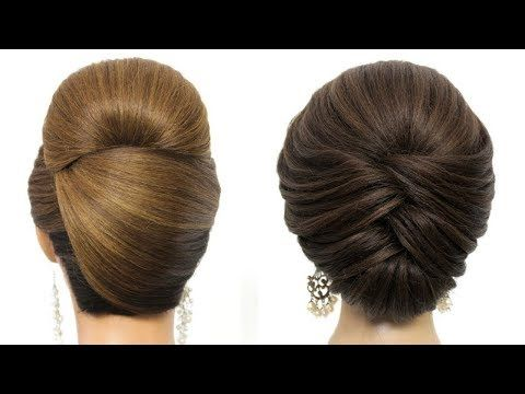 Bridal Updo Tutorial Wedding Prom Hairstyles For Long Hair Youtube In 2020 Cute Prom Hairstyles Prom Hairstyles For Long Hair Braided Hairstyles For Wedding