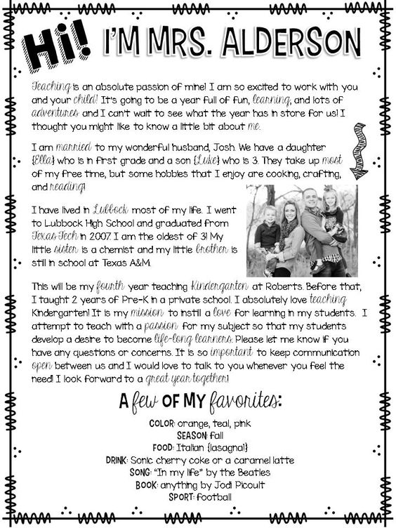 FREEBIE editable welcome letter for back to school! I used this template for my Meet the Teacher letter, and loved it!