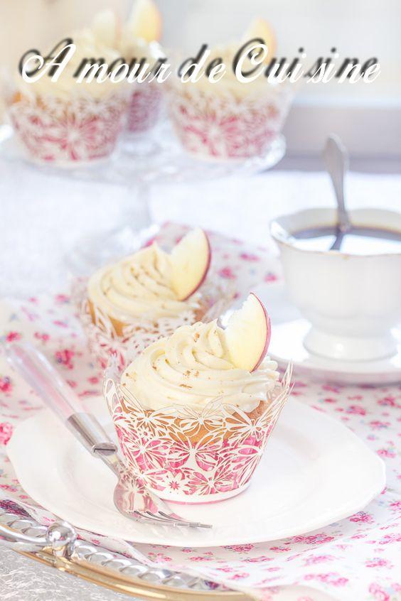 cupcakes aux pommes et mascarpone 4