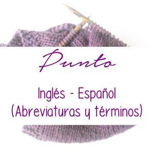 punto términos ingles-español, para descargar en PDF