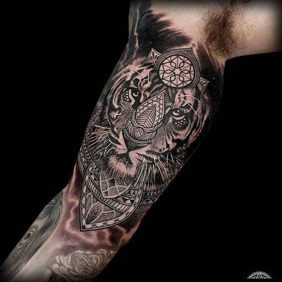55 Best Inner Bicep Tattoos Designs And Ideas For Men And Women Bicep Tattoo Inner Bicep Tattoo Tiger Tattoo Design