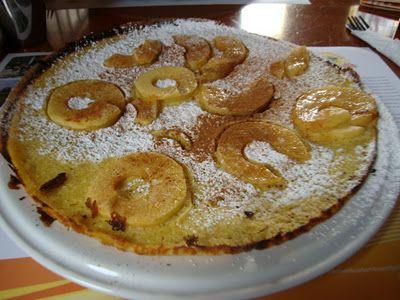Pannenkoek (pancake with appel&bacon)