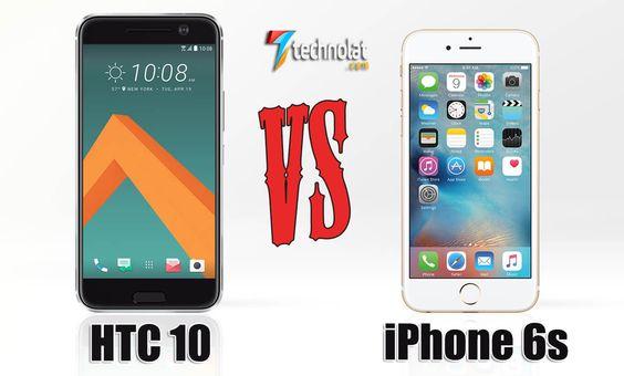 HTC 10 ve iPhone 6s Karşılaştırma http://www.technolat.com/htc-10-ve-iphone-6s-karsilastirma-3274/