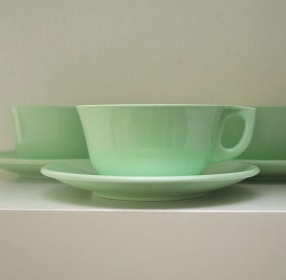 Mint green Melaware