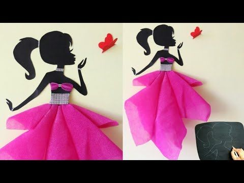 Diy Room Decor Ideas Making Girl With Pretty Dress Girl With