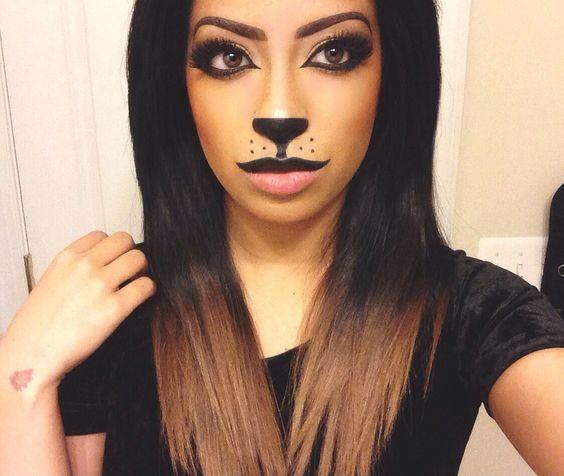 lion make up