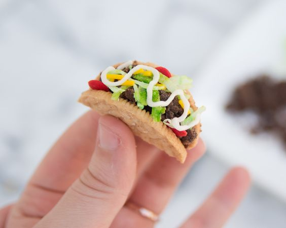Taco Cupcakes Recipe and Tutorial