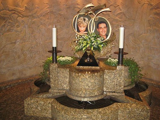The Princess Diana and Dodi Fayed Memorial in Harrods