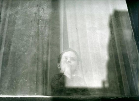 Boy by Saul Leiter, 1950