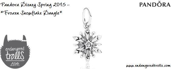 Pandora Frozen Snowflake Dangle