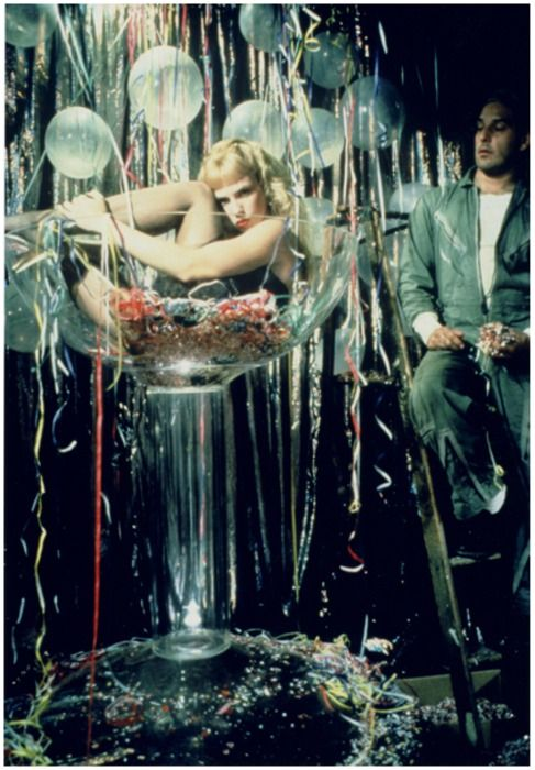 Traci Lords in Crybaby. i need a giant martini glass :)