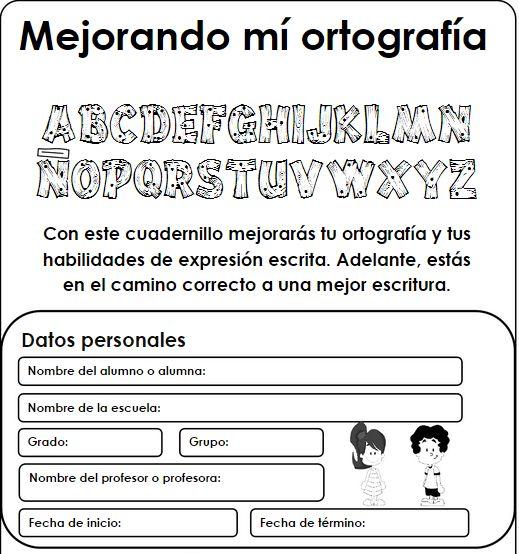 Mejorando Mi Ortografia - Cuaderno de Trabajo para