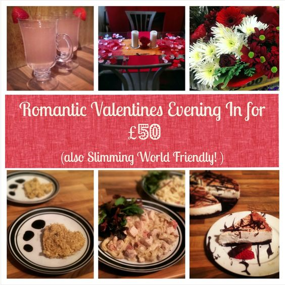 Sugar Pink Food Romantic Valentines Evening For Under 50