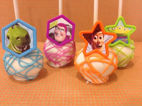 Toy Story Cake Pops by SweetsbyMegan on Etsy, $24.00