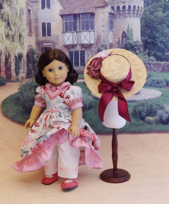 Pembroke Lane Victorian dress for American von CupcakeCutiePie