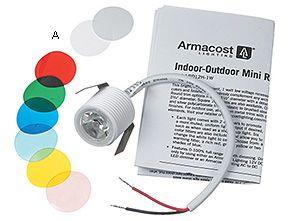 Shower Niche-Indoor/Outdoor 1-Watt Mini Recessed LED - Lee Valley Tools