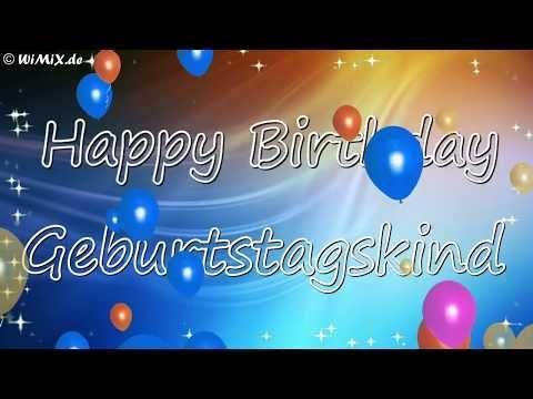 Wimix De Happy Birthday Geburtstag Gruss Geschenkidee Free