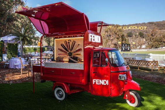 Fendi Road Trip at Veuve Clicquot Polo Classic in Los Angeles.