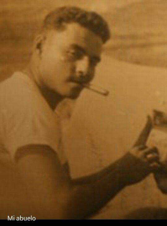 My grandpa Macario Cruz in Korea